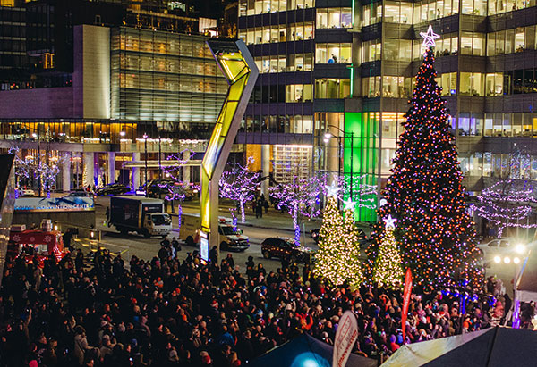 Vancouver Christmas Tree Lighting